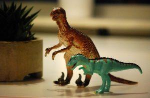 des figurines dinosaure à offrir
