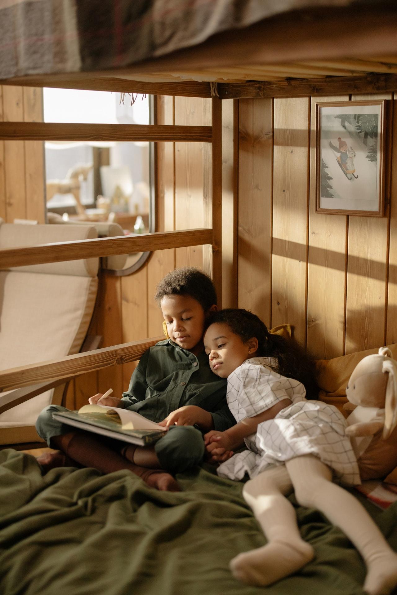 Lit cabane pour sublimer la chambre de l'enfant